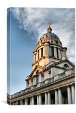 Greenwich Dome, Canvas Print