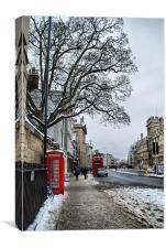 Oxford High Street, Canvas Print