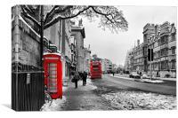 High Street, Oxford, Canvas Print