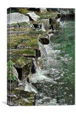 London Waterfall, Canvas Print
