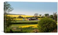 Oxfordshire Landscape, Canvas Print