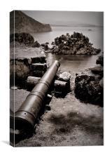 Parga Cannon, Canvas Print