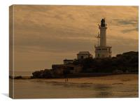 Queenscliff Lighthouse, Canvas Print