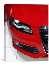 Audi A5, Canvas Print