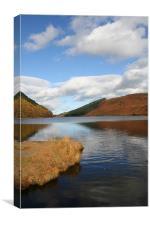 Welsh Reservoir, Canvas Print