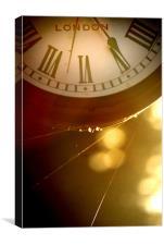 Timeless Clock, Canvas Print