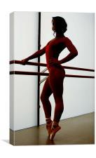 Ballet Stance, Canvas Print