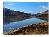 Loch Alsh, Canvas Print