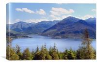 Loch Druich, Canvas Print