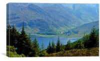 Loch Druich 2, Canvas Print