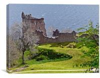 Urquhart Castle, Canvas Print