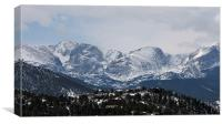 Rocky Mountains 1273, Canvas Print