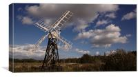 Drainage Mill, Canvas Print