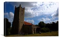 Langham Church, Canvas Print