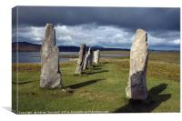 Standing Stones of Callanish, Canvas Print