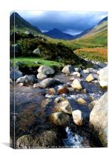 Glen Rosa, Arran, Canvas Print