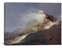 The Dom, Switzerland, Canvas Print