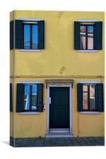 Burano Trapped, Canvas Print