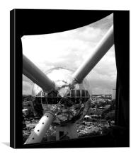 Brussels Atomium , Canvas Print
