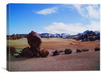 Spain - Parque National del Teide 1 , Canvas Print