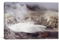 Volcano Poas.