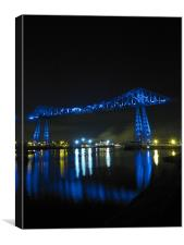 Transporter Bridge Centenary, Canvas Print
