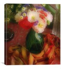 Still Life with Poppies , Canvas Print