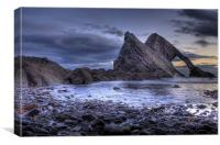 Bow Fiddle Rock, Canvas Print