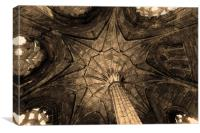 The Chapter House, Canvas Print