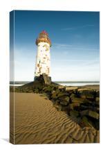 Lighthouse at Talacre, Canvas Print