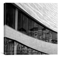 Museum of Liverpool Facade, Canvas Print