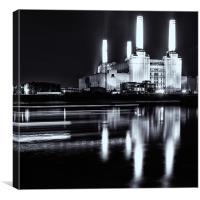 Battersea Power Station, Canvas Print