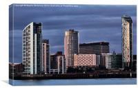 Princes Dock Liverpool , Canvas Print