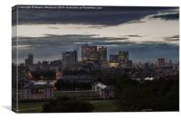 Canary Wharf London , Canvas Print