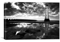 Perch Rock, Canvas Print