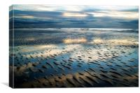 Rippling Sands, Canvas Print
