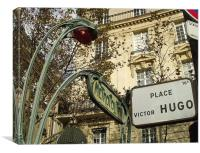 Victor Hugo , Canvas Print