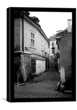 Timeless street, Canvas Print