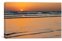 Summer Sunset, Canvas Print