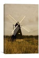 Ageing Windmill , Canvas Print