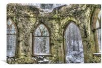 Surreal Ruins, Canvas Print