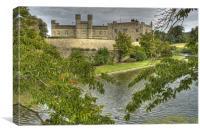 Leeds Castle Kent, Canvas Print