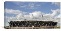 2012 Olympics stadium, Canvas Print