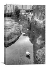 Faversham Creek, Canvas Print