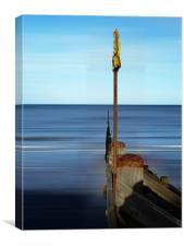 Norfolk coast, Canvas Print