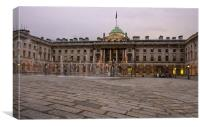 Somerset House, Canvas Print