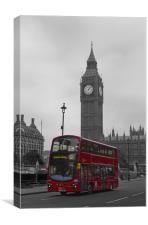 London Big Ben, Canvas Print