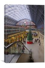 St Pancras Station, Canvas Print