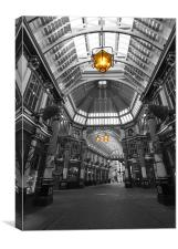 Leadenhall Market London, Canvas Print