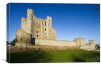 Rochester Castle Kent, Canvas Print
